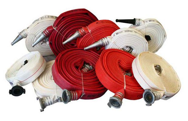 фото пожарные рукава